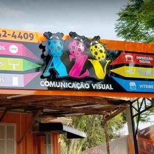 Comunicação visual display sp