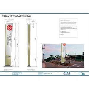 projeto de sinalização ambiental