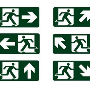 Mapa tátil de acessibilidade com suportes